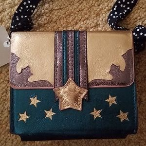 Cute Zara metallic star purse